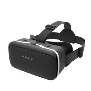 2020 rgknse vr case 6th OEM New Arrival All In One Virtual Reality Vr 3d glasses ABS Plastic 3D VR Glasses