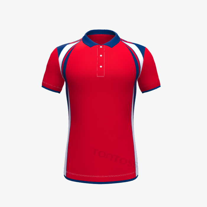 Hot sell high quality sublimated new design polyester cotton man polo t shirt