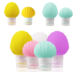 Wholesale Custom Made TSA Approved Leak Proof Shampoo Bath Container Packing Silicone Refillable Travel Cosmetic Bottles Set