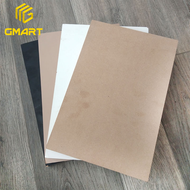 Gmart Building Materials Smooth Surface Mdf Board Melamine, Factory Wholesale Office Table Mdf Price For Sheet