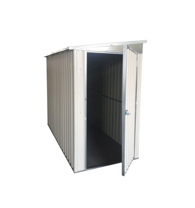 R easy assembly metal storage shed 4'x8'ft
