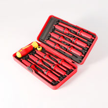 s2 steel material 11pcs torque screwdriver electric vde screwdriver set 1000v screwdriver with color box packing