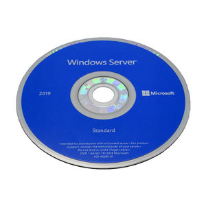 Win Server 2019 Standard Original Lizenz version Volle Produkt Lebensdauer DVD