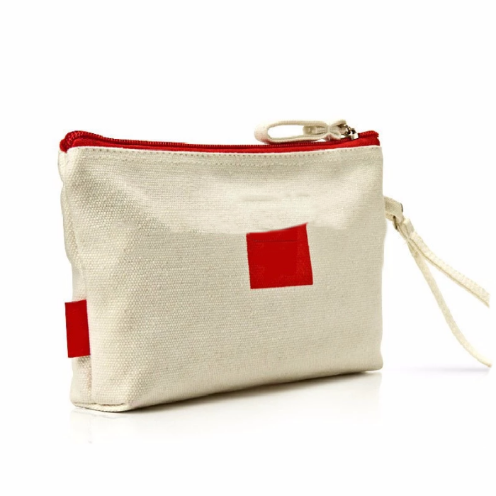 Wholesale Canvas Fancy Design Customized Cosmetic Bag Pouch Eco-friendly Promotional gift bag