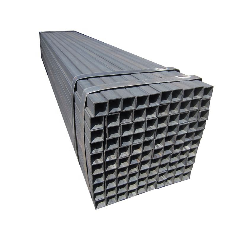 schedule 40 carbon tube weight per 6 meter length ms square and rectangular steel pipe