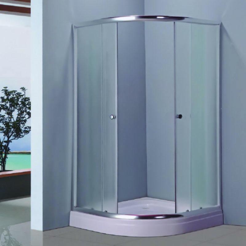 ホット販売高品質低価格アルミ合金シンプルなポータブル同封蒸気シンプルなシャワールーム