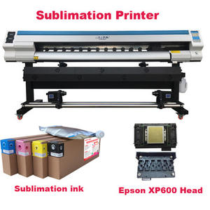 automatic large format printer xp600 dx7 dx5 sublimation inkjet cmyk ink