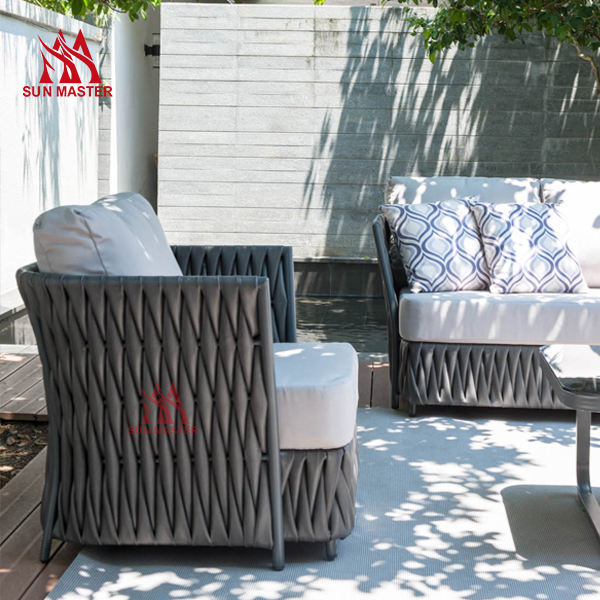Furniture Hammock Plastic Rattan Woven Furniture Outdoor Table and Chair HD Designs Outdoor cane Waterproof chair set