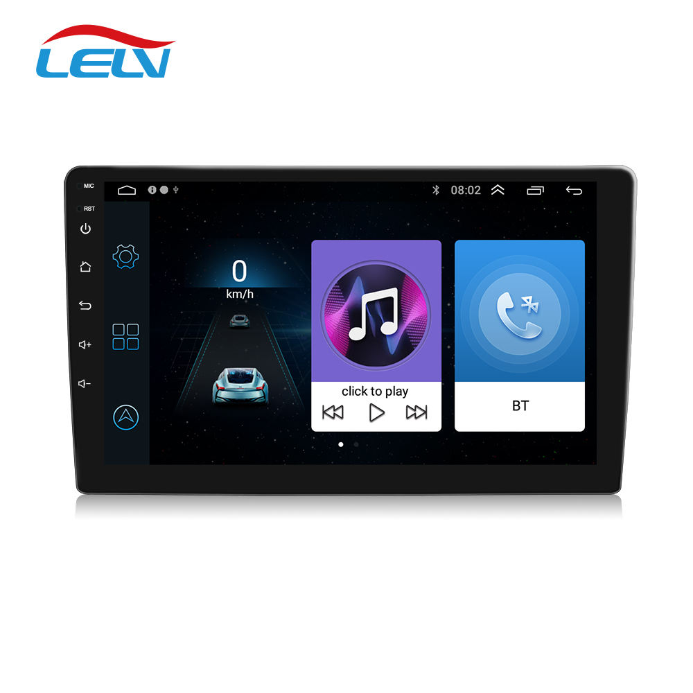 <span class=keywords><strong>Radio</strong></span> Mobil Android 9 10 Inci, Stereo Audio 2 Din Tautan Cermin Bluetooth WIFI Pemutar DVD Multimedia Auto <span class=keywords><strong>Radio</strong></span> Navigasi GPS 2.5D