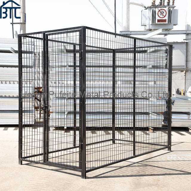6 ft height Wholesale Outdoor Metal Cheap Dog Kennel And Run.