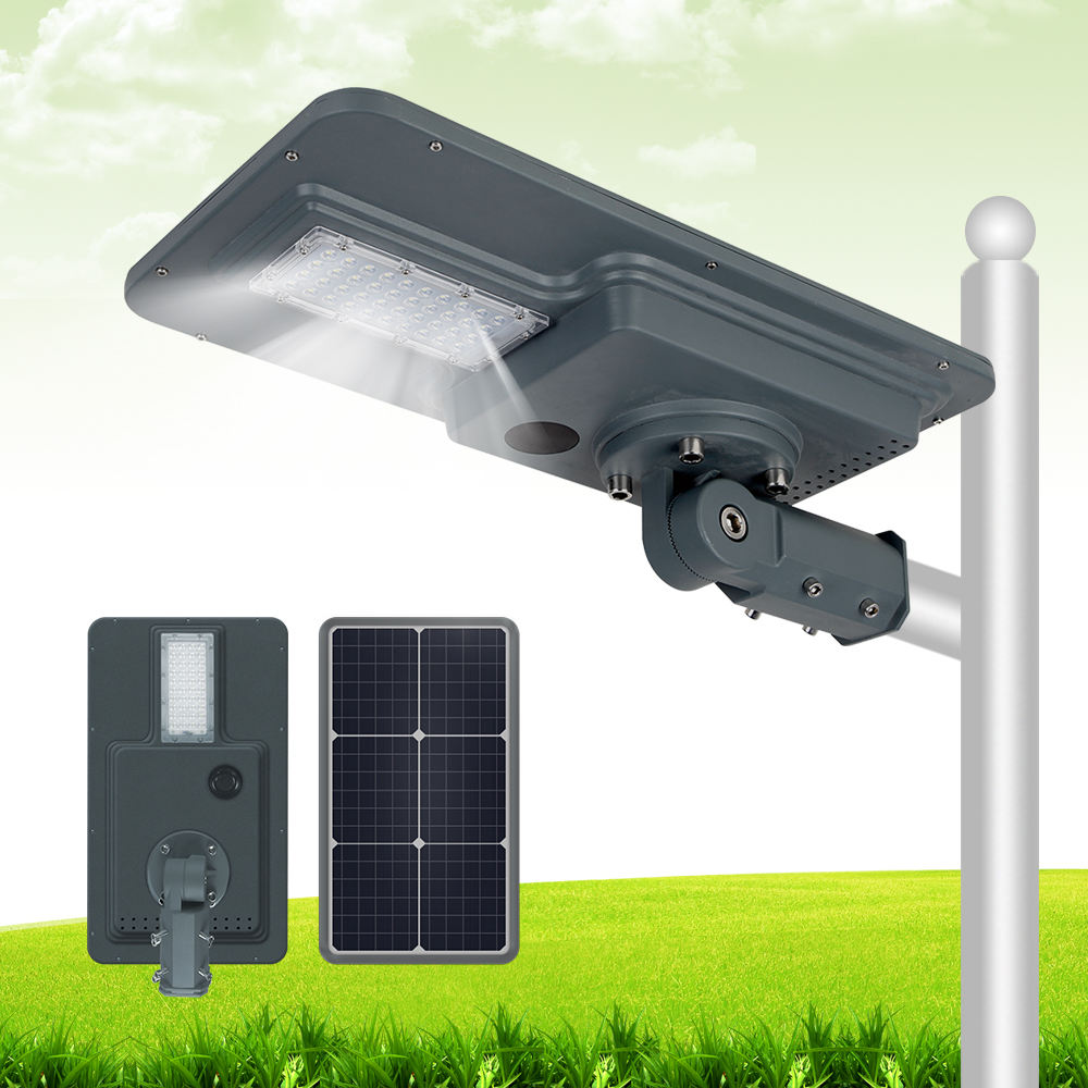 factory directly solar luminaries integrated solar power street light