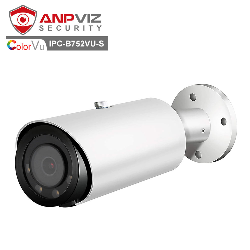 Anpviz 5MP ColorVu Peluru IP <span class=keywords><strong>Kamera</strong></span> 3.6Mm F1.<span class=keywords><strong>0</strong></span> Starlight Lensa 30-35M Warna LED Jarak Digital WDR Dukungan P2P Onvif Lihat