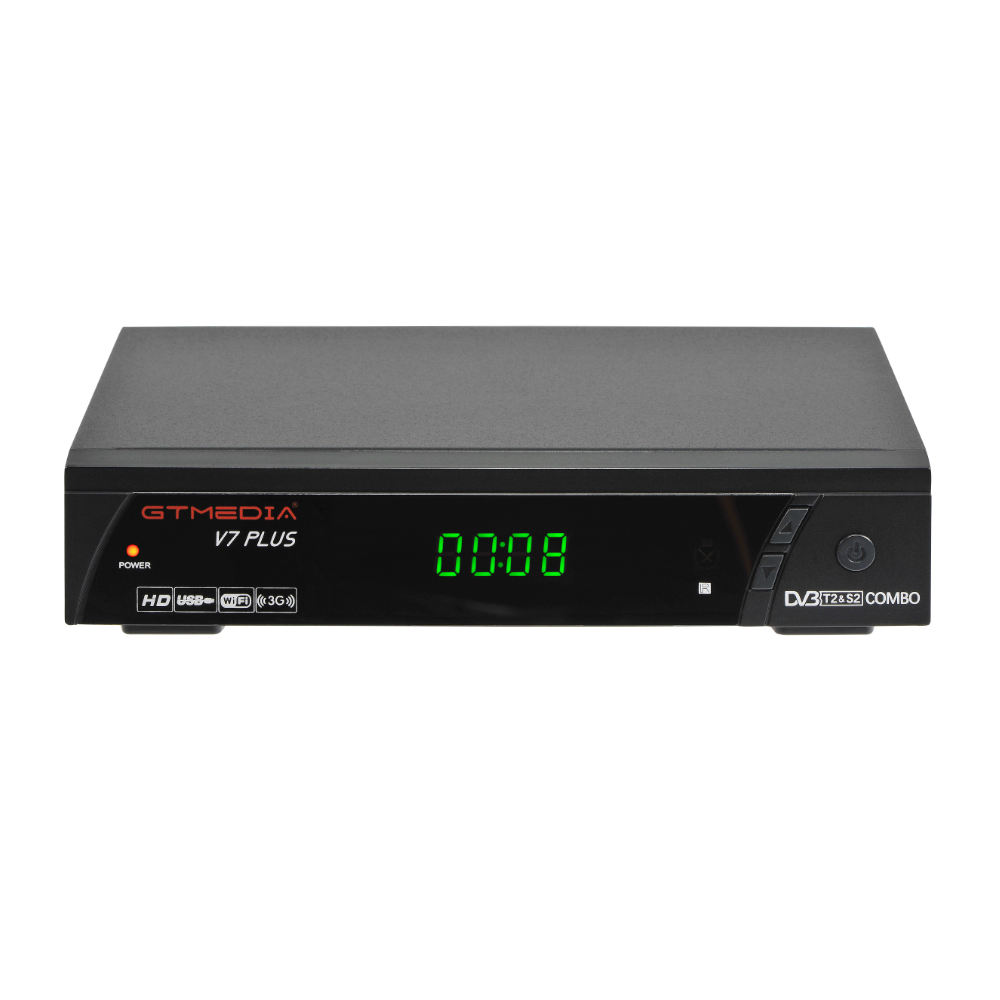Hot Sale Power Duduk Kuat SRT 4653X Digital Satellite Receiver Gtmedia V7 Plus H.265