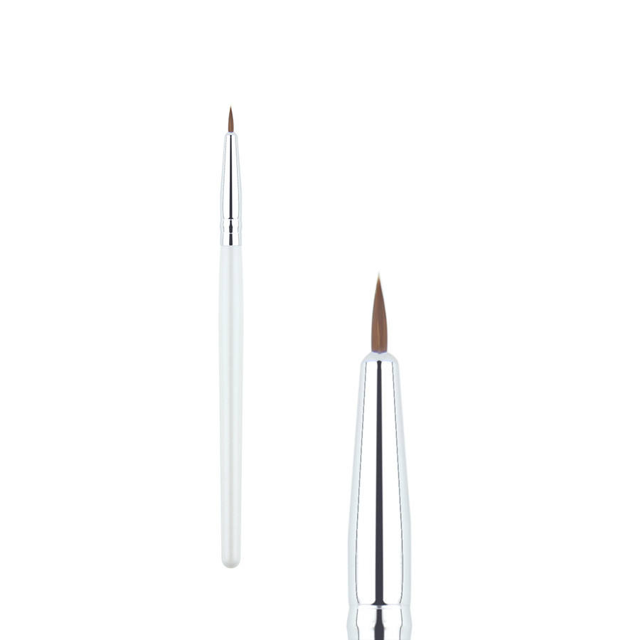 1Pcs Synthetisch Haar Eyeliner Make Up Brush Professionele Eyes Liner Make-Up Kwasten Houten Cosmetische Tool
