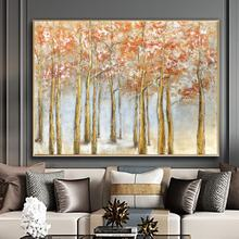 Hand Painted Canvas Art Picture Home Decor For Room Decoration Abstract Vintage Oil Painting Home Wall Decoration