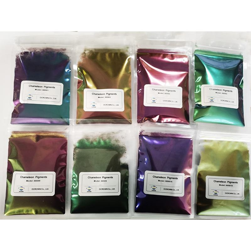 New 2020 Trending Product Bulk Epoxy Floor Coating Pigment Pearlescent Pigment Color Shifting Chameleon Pigment