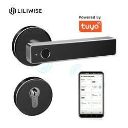 Factory Manufacturer Price Wifi Smart Lock Tuya APP Remote Control Fingerprint Door Lock