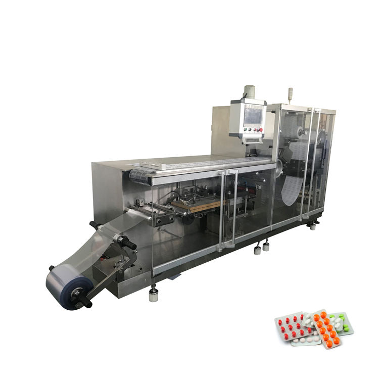 dph 260 Flat Type Automatic Capsule Tablet Blister Packing Machine