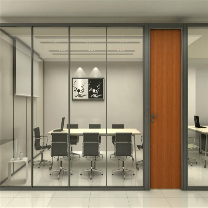 Office mobile screen glass partition wall activity partition