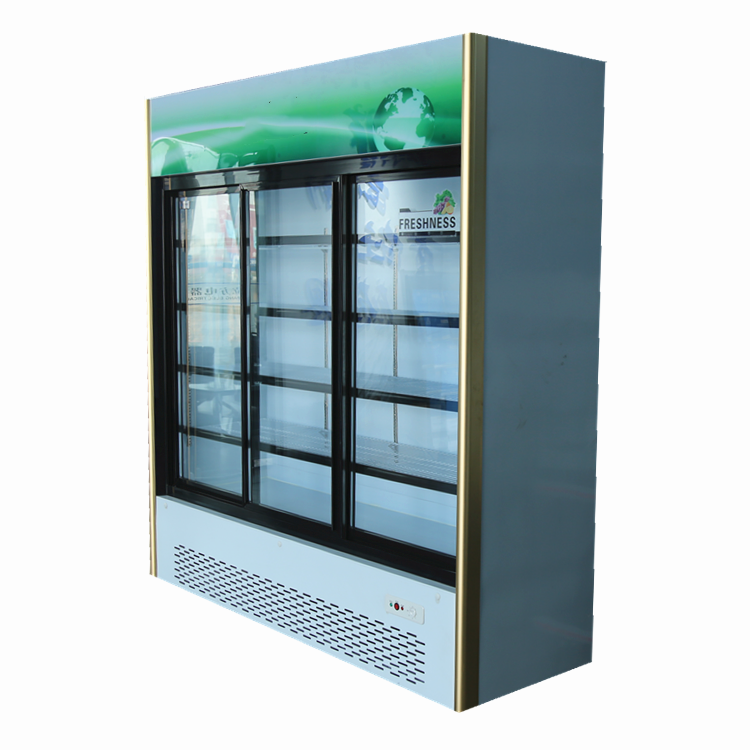 Fresh meat display chiller freezer for ice cream energy soft drink beverage refrigerator sc105b