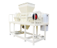 tyre metal plastic shredder crusher machine with good price