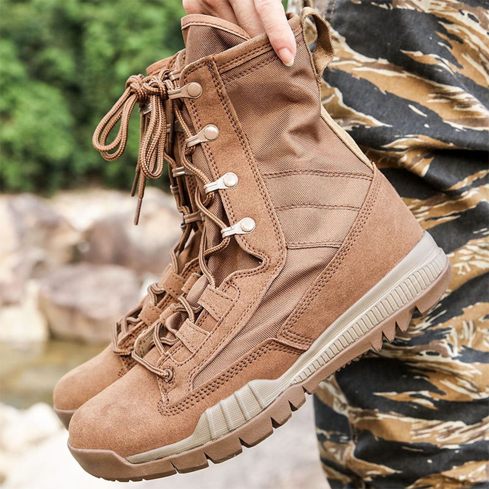 Tactics Boots For Men Military Sports Shoes Desert Boot Outdoor Anti-shock