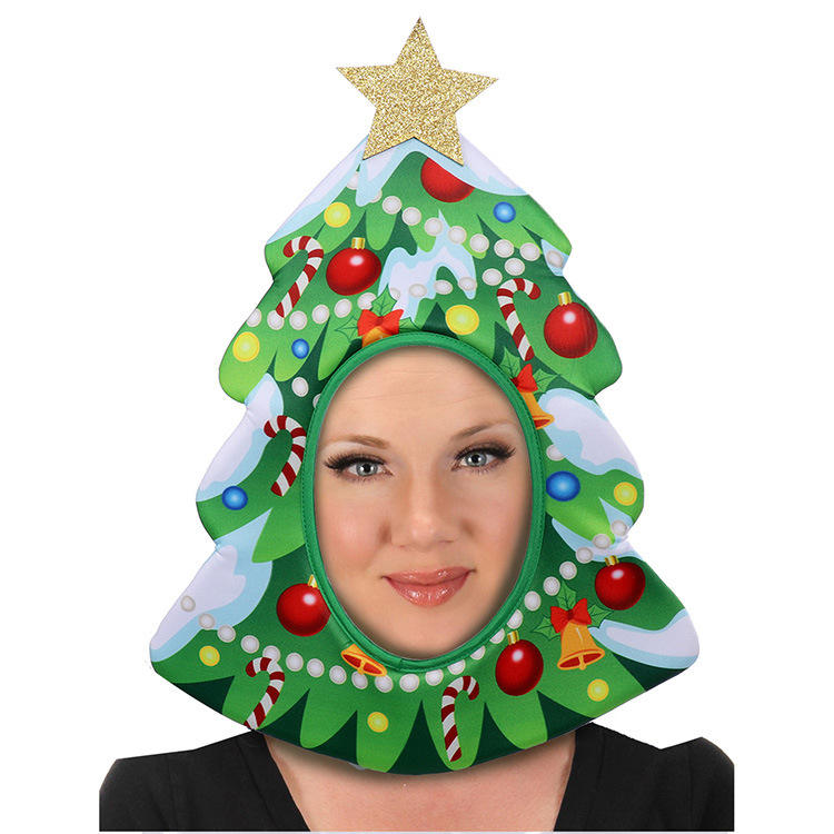 2021 3D Harry New Party Merry Christmas Hats With Tree chips gifts
