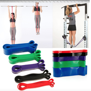 Multifunctionele Stretch Weerstand Pull Up Assist Band Voor Pilates Workout Latex Buis Pull Touw Training Touw Oefening Fitness