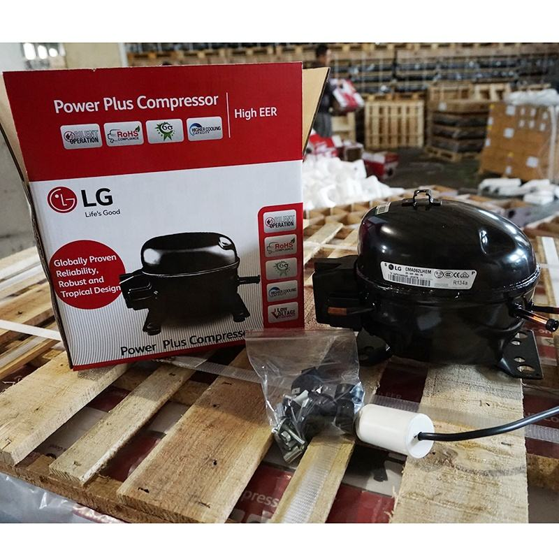 LG Original New R134a Refrigerator compressor CMA057LHEG Separate Carton Loading in stock
