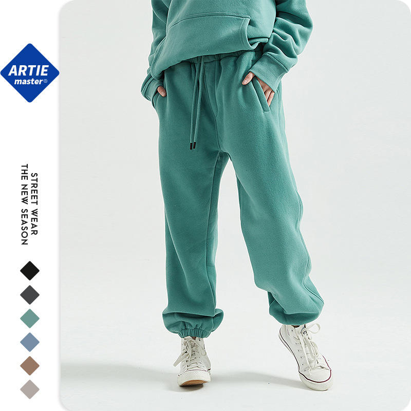 Wholesale custom new fashion polyester cotton mens sweatpants