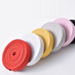 Heat transfer colorful elastic 0.97mm band rolls in stock can be customized