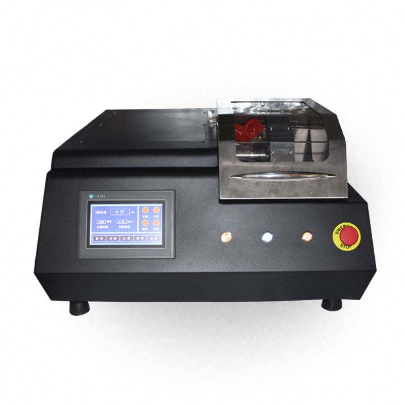 Manual / automatic Metallographic sample cutter  Metallographic abrasive Cut-off china Metallographic Cutting Machine