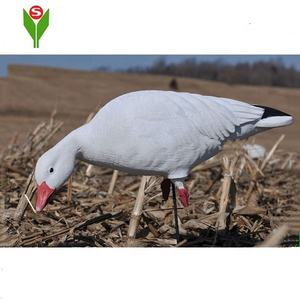 Plastik Outdoor Snow Goose Umpan