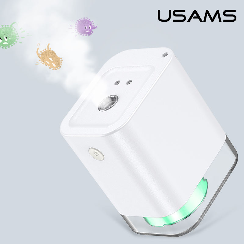 USAMS Electric Automatic Hand Sanitizer Dispenser Automatic Foam Liquid Spray Sanitizer Soap Dispenser