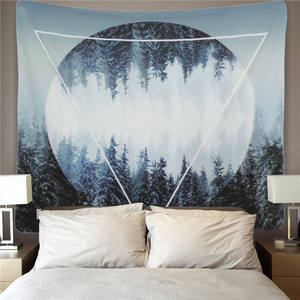 Custom Logo Printed Wall Hanging Tapestry For Home Decor