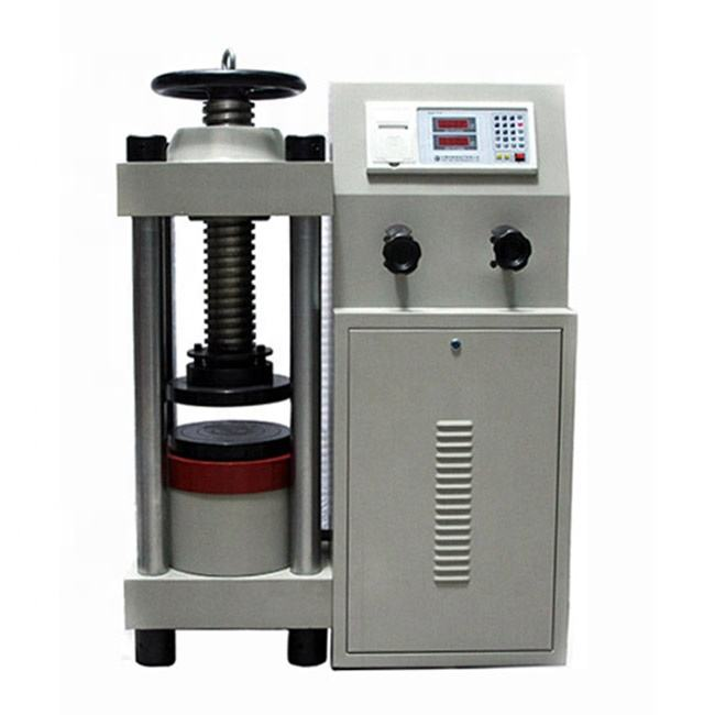 2000kN Manual Concrete Compression Testing Machine Price Testing Equipment Manufacturer