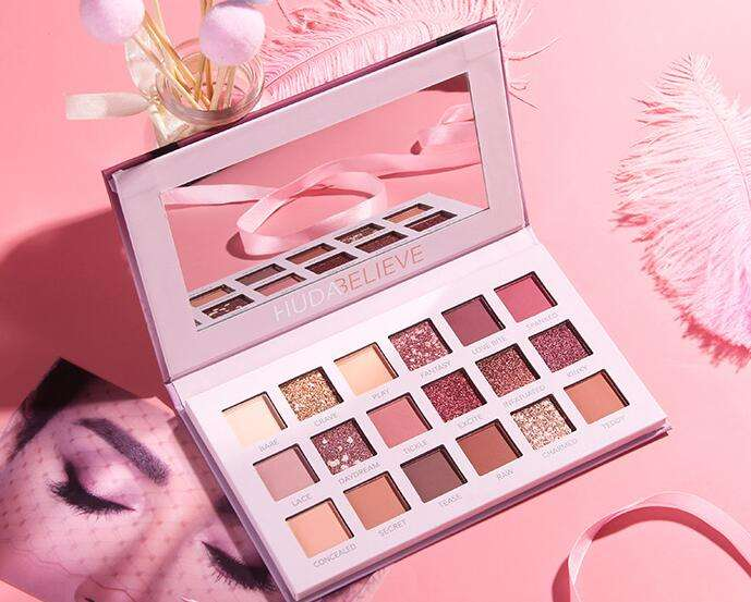 Best Eyeshadow Palette Makeup Matte Shimmer 18 Colors Highly Pigmented Professional Nudes Warm Natural Eyeshadow