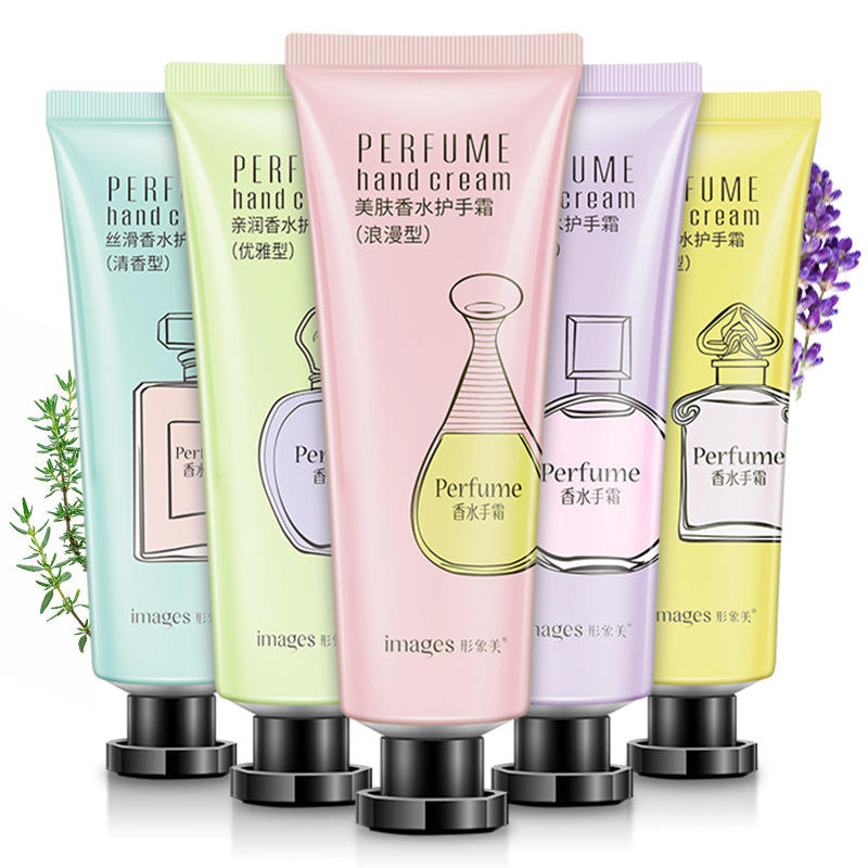 Natural Flower Extract Perfume Hand Cream Moisturizing Nourishing Mild Hand Care Cream Hand Massage Lotion Repair Anti-cracking