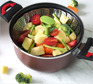 For Stainless Steel vegetable steamer basket pot pan High quality cheap price