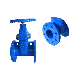 Electric Motor Operated Actuated Resilient Seated Non-Rising Flanged Gate Valve For Sale