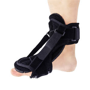 Neoprene Adjustable Ankle Foot Drop Brace Support with Double Straps