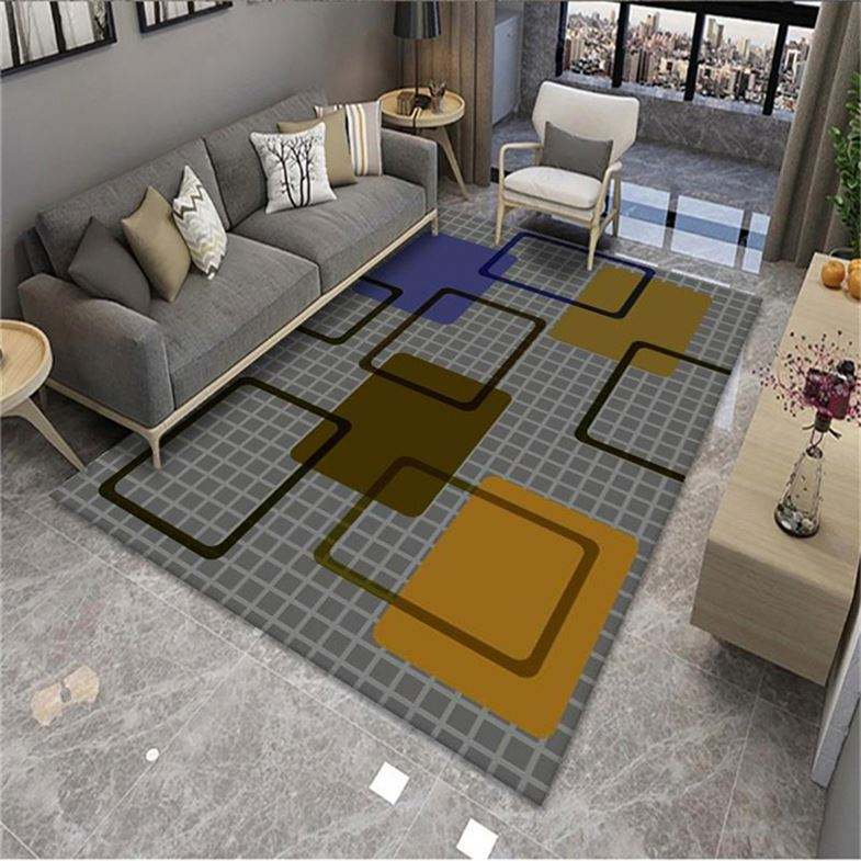 manufacturer 3D design polyester shaggy area rug carpet