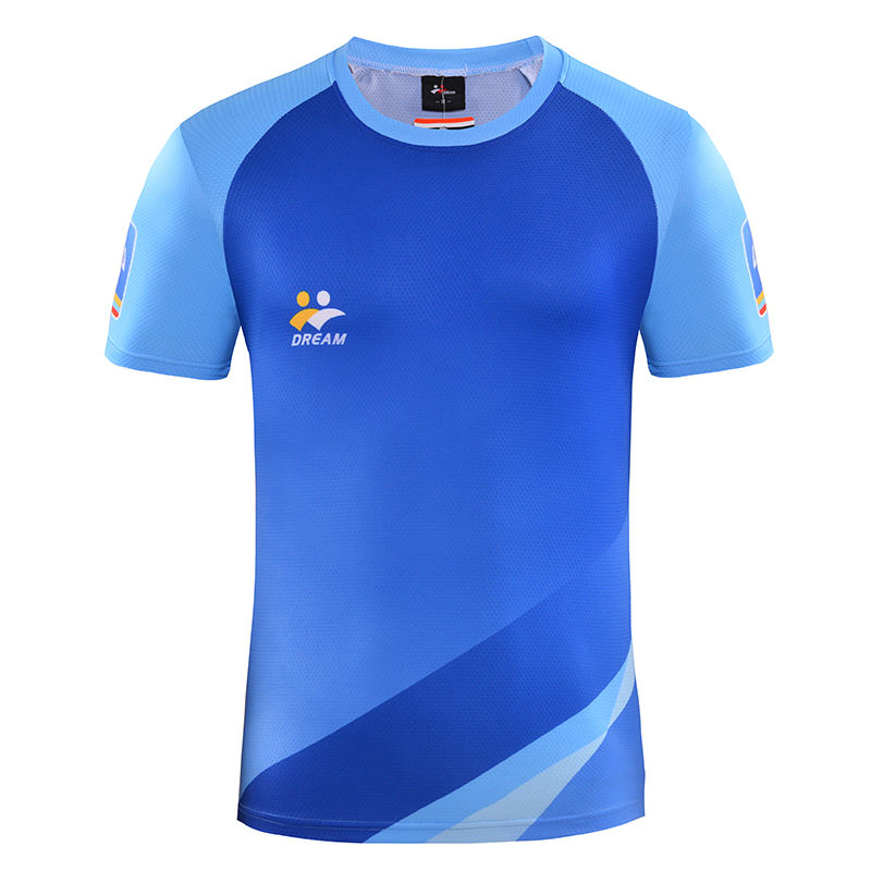 100% polyester adult kids quick dry shirts wholesale