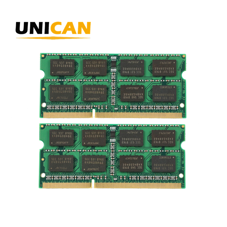 Unican 4GB 2GB 1GB <span class=keywords><strong>DDR2</strong></span> 667MHz 800MHz Sodimm PC2-5300 PC2-6400 Non-ECC 2RX8 Unbuffered Laptop <span class=keywords><strong>RAM</strong></span>