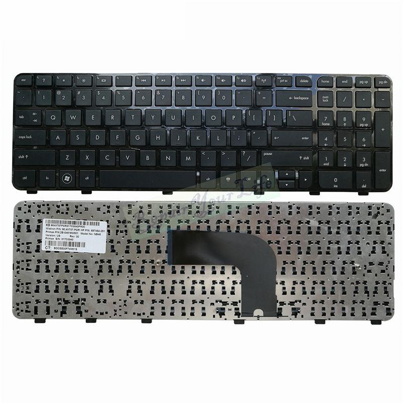 Genuine HP Pavilion dv6-7000 dv6t-7000 dv6z-7000 US Laptop Keyboard W//Frame NEW