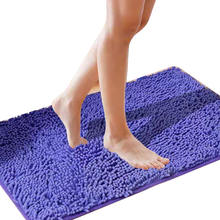 US $3.45 / Square Meter Chenille Mats Foot pad Shower Room Door way water uptake absorb Carpet Kitchen TOILET anti-skid mat