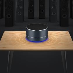 Metal Bass Bluetooth Speaker Portable Stereo Wireless Speaker