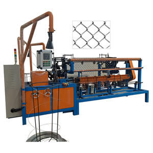 diamond mesh machine/chain link wire mesh machinery/equipment/production line