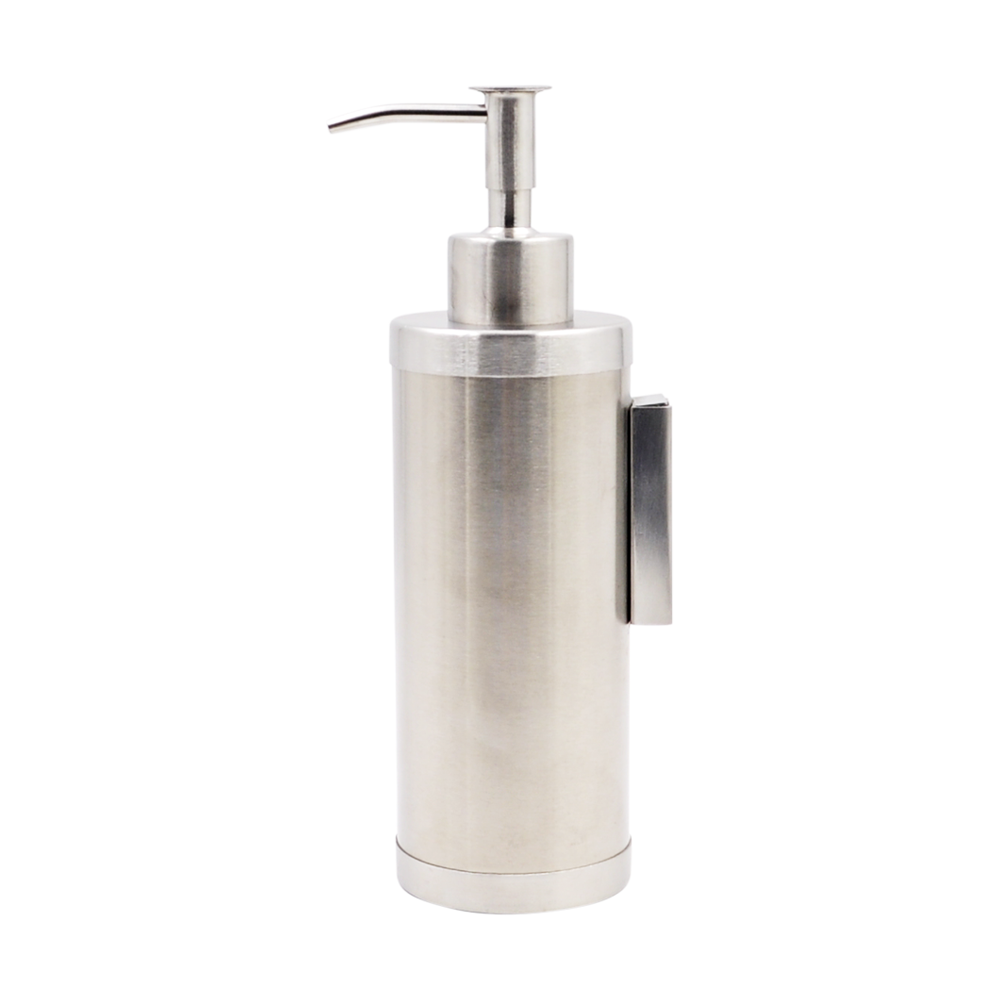 Special kettle bottle shape 304 stainless steel double wall refillable antique bathroom bottle