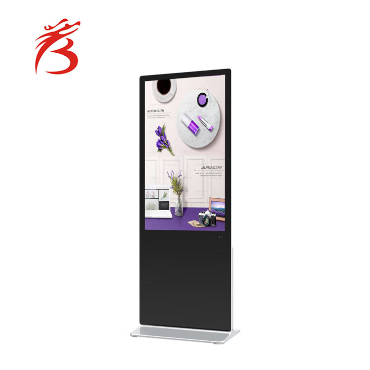 50 inch lcd interaktive touch screen smart board touch screen android vertikale display digital signage standee
